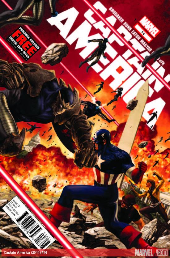 CAPTAIN AMERICA 16 (WITH DIGITAL CODE)