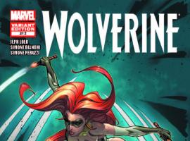 WOLVERINE 312 CAMPBELL VARIANT (1 FOR 30, WITH DIGITAL CODE)