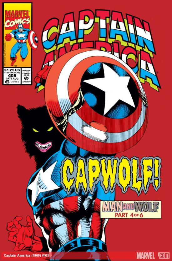 Captain America (1968) #405 Cover