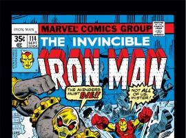 Iron Man (1968) #114 Cover