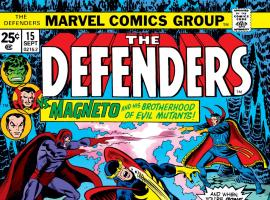 Defenders (1972) #15 Cover