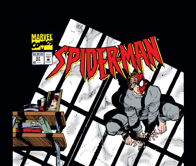 Spider-Man (1990) #57 Cover