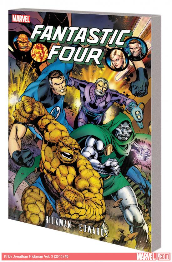 FF BY JONATHAN HICKMAN VOL. 3 TPB (COMBO)