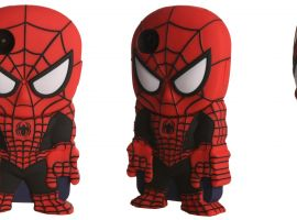 Spider-Man Black iPhone4 Chara-Cover by Huckleberry