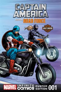 Captain America featuring Road Force in ENDGAME  #1