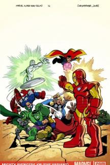 Mighty Avengers #30  (SHS VARIANT)