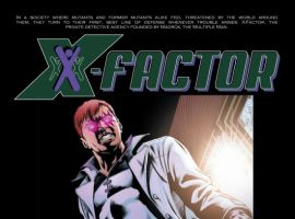 X-FACTOR #45, intro page