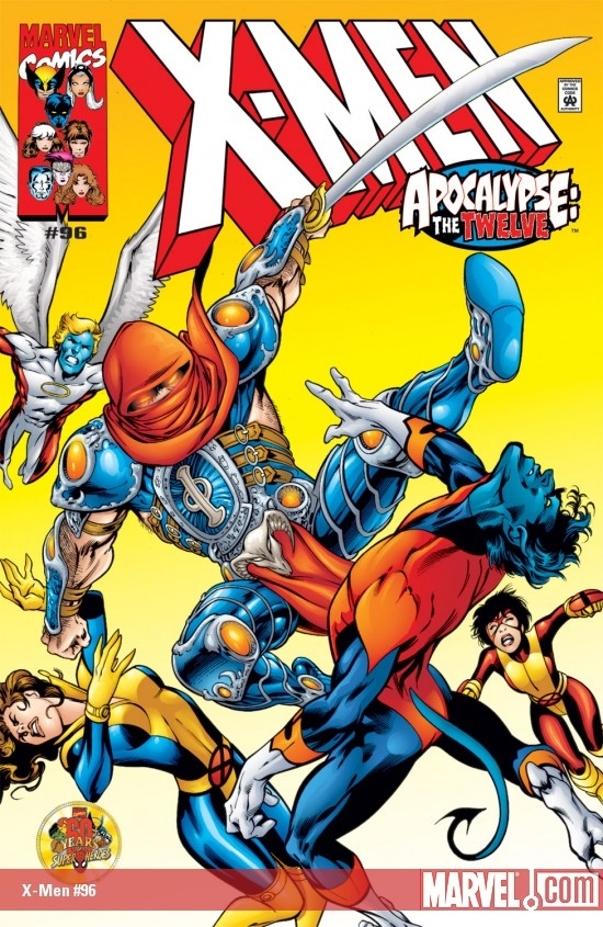 X-Men (1991) #96 cover by Alan Davis