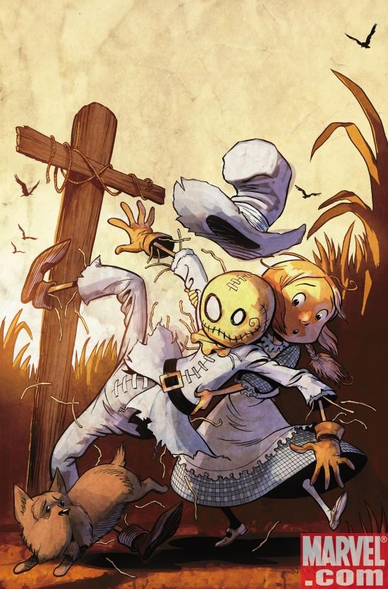 THE WONDERFUL WIZARD OF OZ #1 Shanower Cover