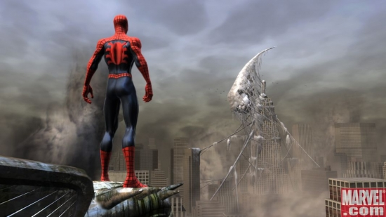 Spider-Man prepares to rescue New York!