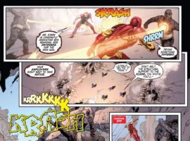 IRON MAN LEGACY #1 preview art by Steve Kurth
