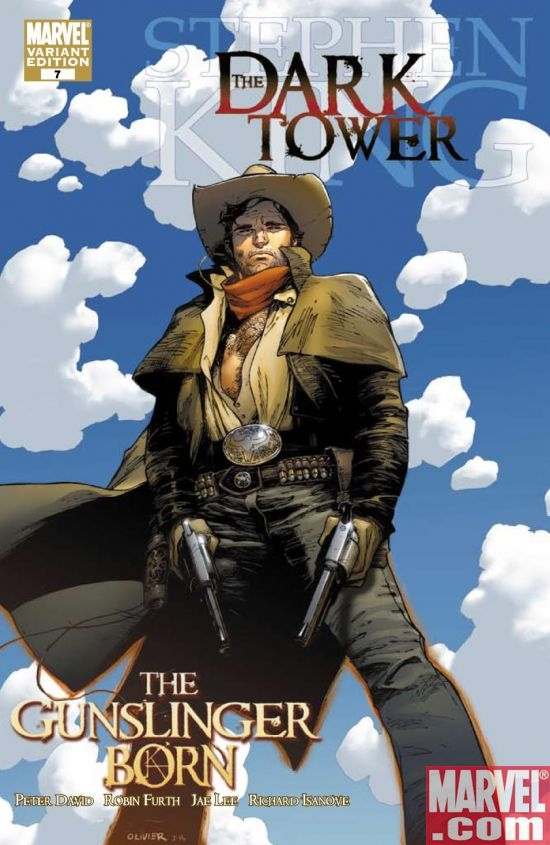Dark Tower: The Gunslinger Born Art by Olivier Coipel