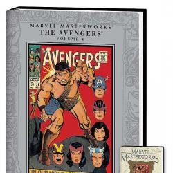 MARVEL MASTERWORKS: THE AVENGERS VOL. COVER