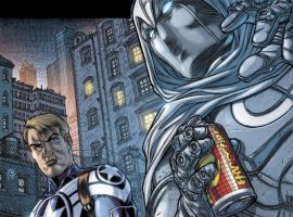 VENGEANCE OF THE MOON KNIGHT #9 preview art by Juan Jose Ryp 6