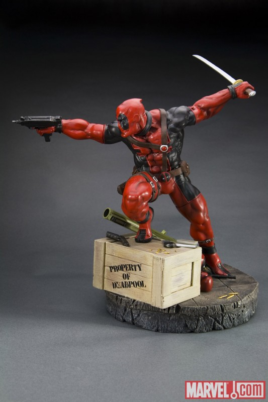 Deadpool Fine Art Statue from Kotobukiya