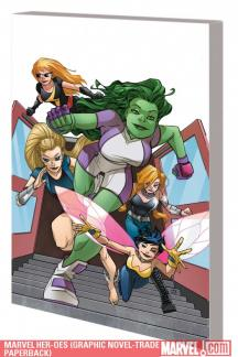 Marvel Her-Oes (Trade Paperback)