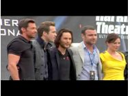 On the Red Carpet: Wolverine Premiere Pt 2