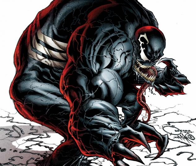 Venom (2011) #1 cover by Joe Quesada