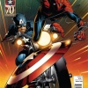 AMAZING SPIDER-MAN #656 (1999) Captain America 70th Anniversary variant cover by Joe Quesada