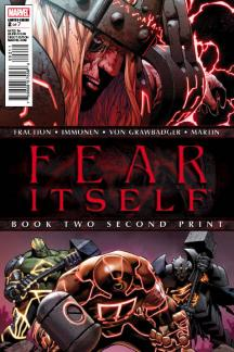 Fear Itself (2010) #2 (2nd Printing Variant)