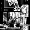 Spider-Island: Cloak & Dagger #1 preview inks by Emma Rios
