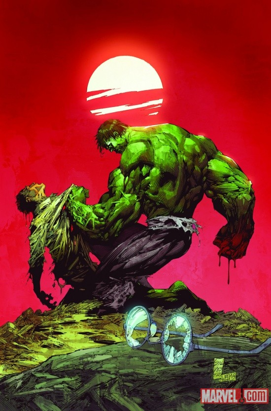 Incredible Hulk (2011) #3 cover by Marc Silvestri