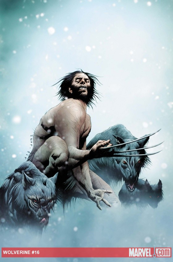 Wolverine (2010) #16 cover by Jae Lee