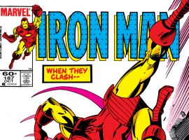 Iron Man (1968) #187 Cover