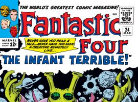 Fantastic Four (1961) #24 Cover