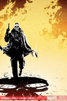 Punisher Noir (2009) #1 (CALERO VARIANT)