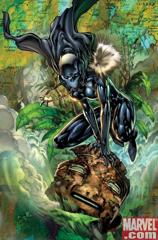 BLACK PANTHER #1 SECOND PRINTING VARIANT