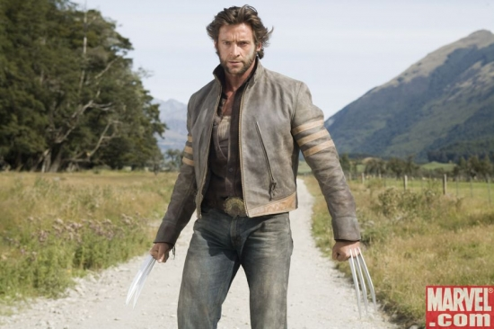 Wolverine doesn't look pleased