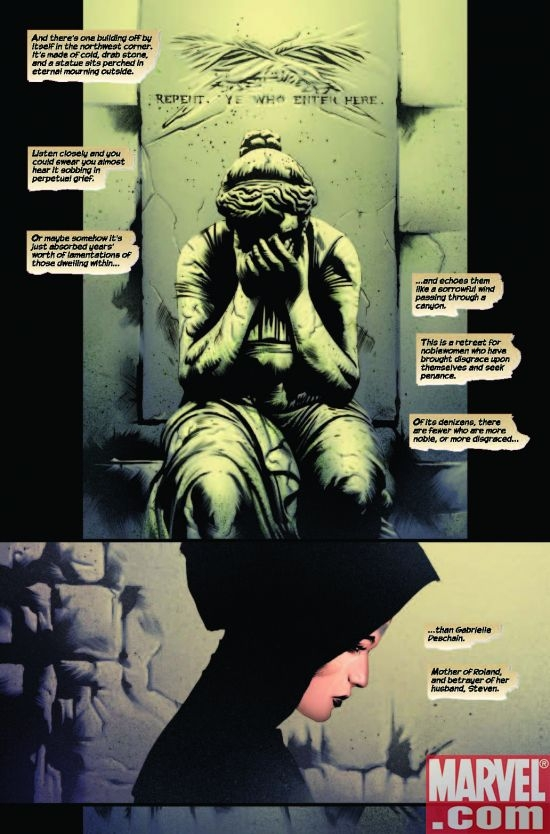DARK TOWER: TREACHERY 3 INTERIOR PAGE