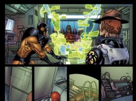 AVENGERS: THE INITIATIVE #17 preview art