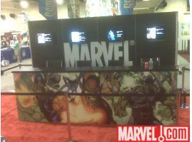 Marvel Signing Booth
