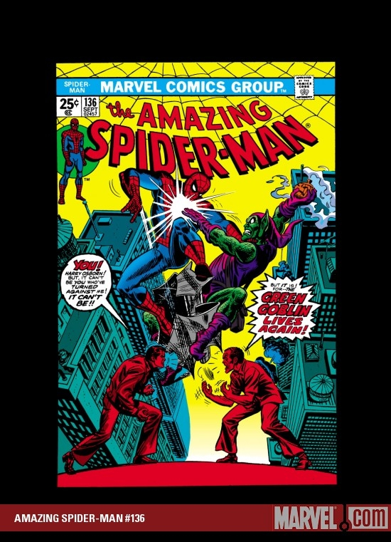 AMAZING SPIDER-MAN #136