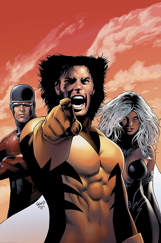 X-MEN: THE END - HEROES AND MARTYRS (2006) #1 COVER