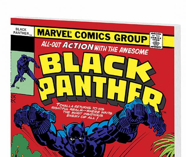 BLACK PANTHER BY JACK KIRBY VOL. 1 COVER