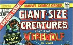 GIANT-SIZE CREATURES #1 cover