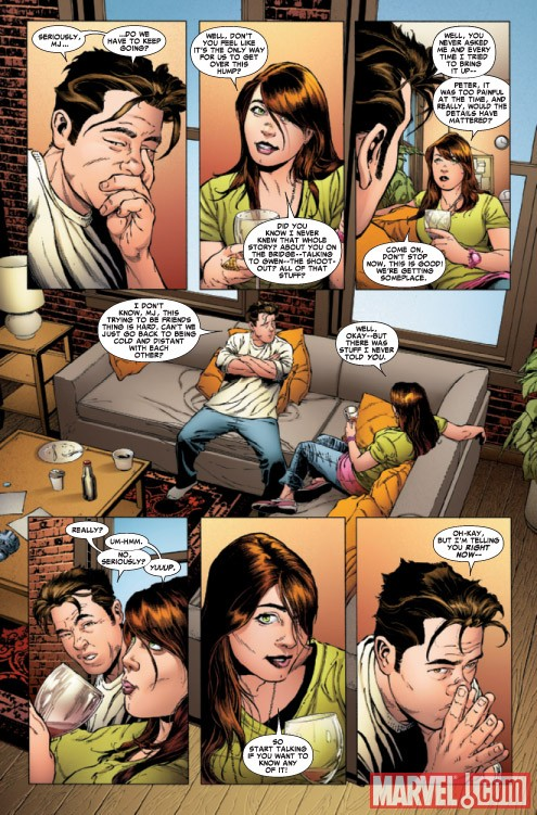 AMAZING SPIDER-MAN #639 preview art by Joe Quesada