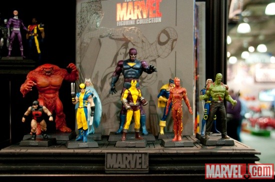Eaglemoss Publications Classic Marvel Figurine Collection (Part 2) at Toy Fair 2011
