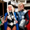 Thor Costumes: Jay Tallsquall as Thor and Megan Taylor as Valkyrie