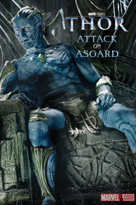Thor: Attack on Asgard Book Cover