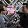 XMFC producer Simon Kinberg and Marvel Comics Senior Editor Nick Lowe at the 'X-Men: First Class' red carpet event in NYC