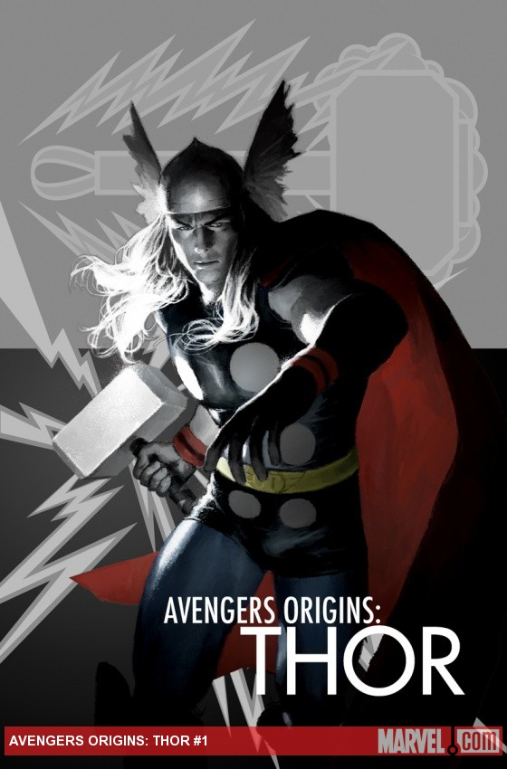 Avengers Origins: Thor cover