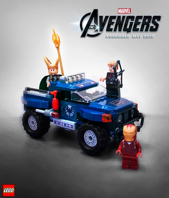 Loki's Cosmic Cube Escape from LEGO's Marvel's The Avengers collection