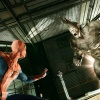Screenshot of Spider-Man and the Rhino from the Amazing Spider-Man video game