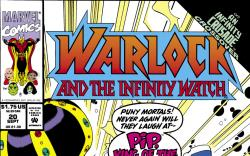 Warlock and the Infinity Watch (1992) #20 Cover