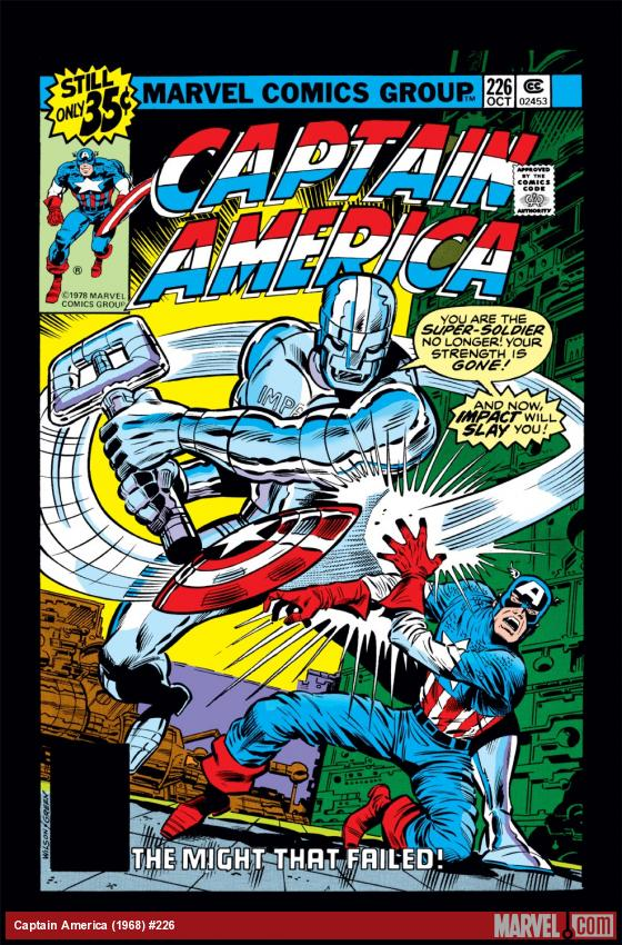 Captain America (1968) #226 Cover