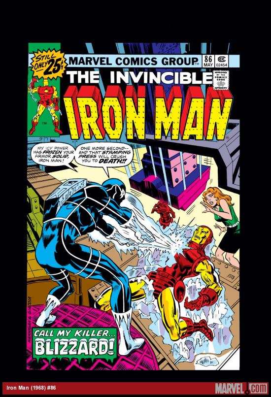 Iron Man (1968) #86 Cover